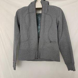 Lululemon Grey Scuba Jacket